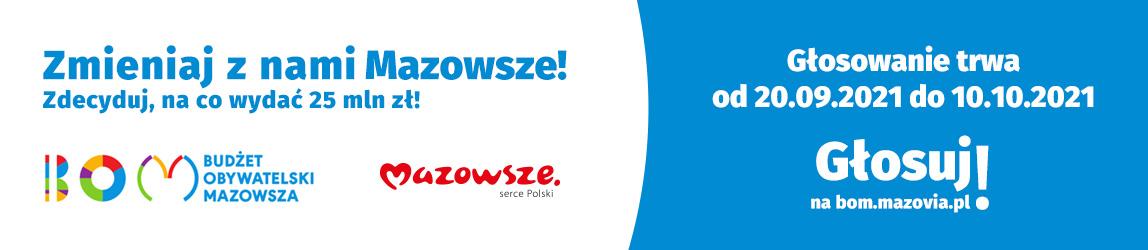 Banner Zmieniaj z nami Mazowsze